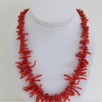 Vintage Branch Coral Necklace